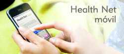 La aplicación Health Net Mobile <br/>es una manera fácil de conectarse.<br/>. Disponible para Apple y Android