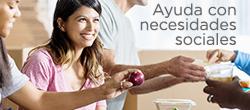 Encuentre servicios como atención médica, alimentos, refugio, capacitación laboral y más.
